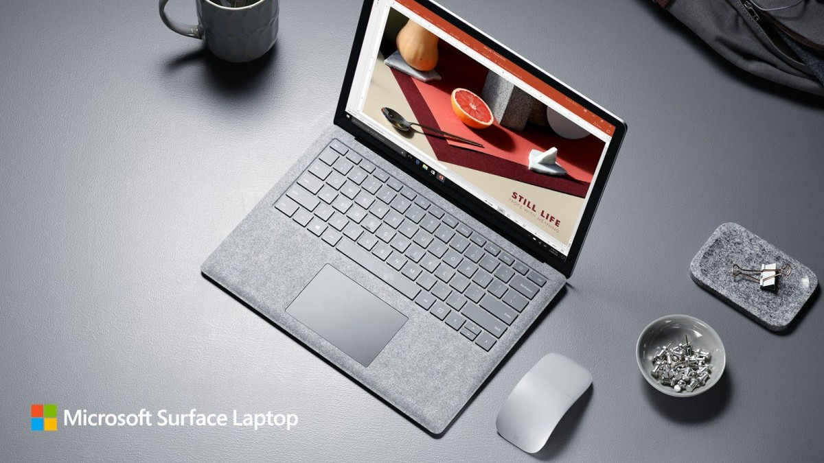 Microsoft анонсировал Surface Laptop
