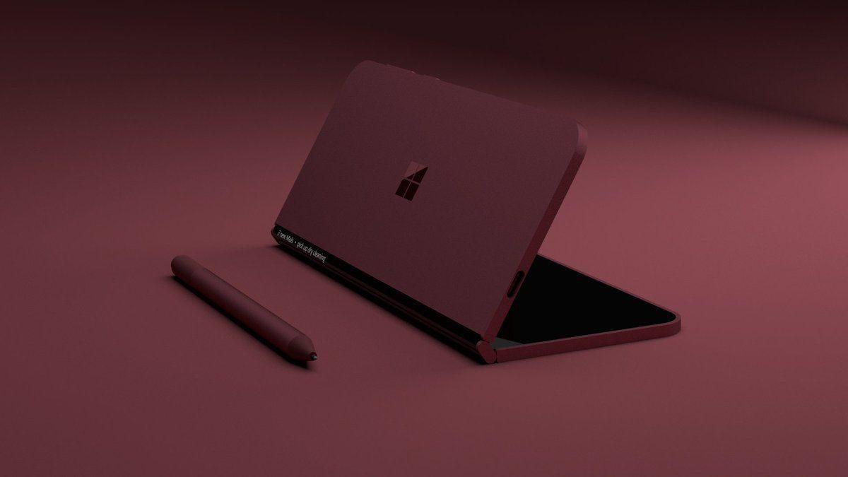 Это может быть секретный Surface Notepad от Microsoft