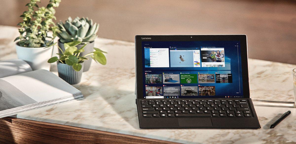 Microsoft представляет апрельское обновление Windows 10