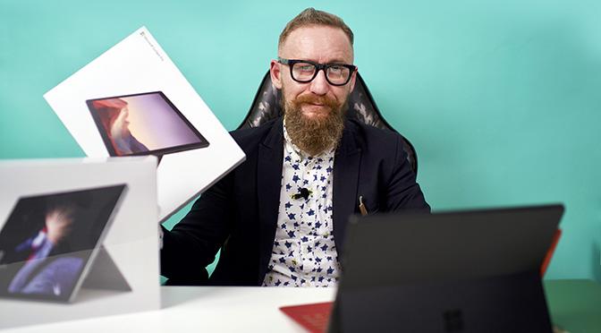 Новое видео на нашем канале YouTube: Обзор Microsoft Surface Pro 7!